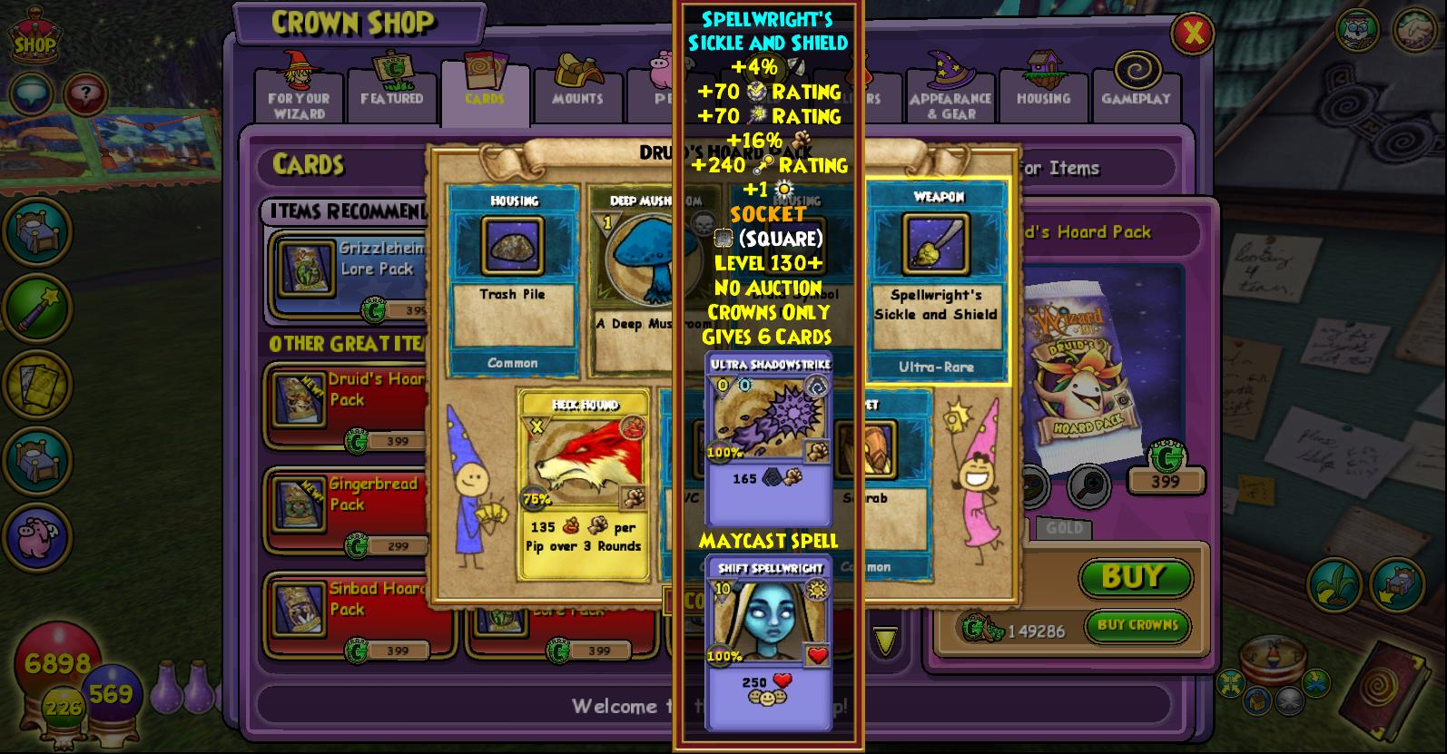 Name:  _spellwright's sickle and shield.jpg Views: 160 Size:  247.1 KB